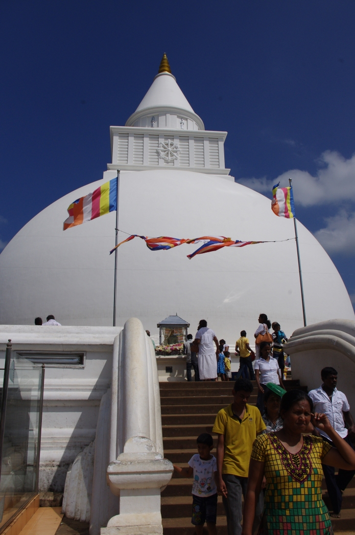 The stupa at Kataragama