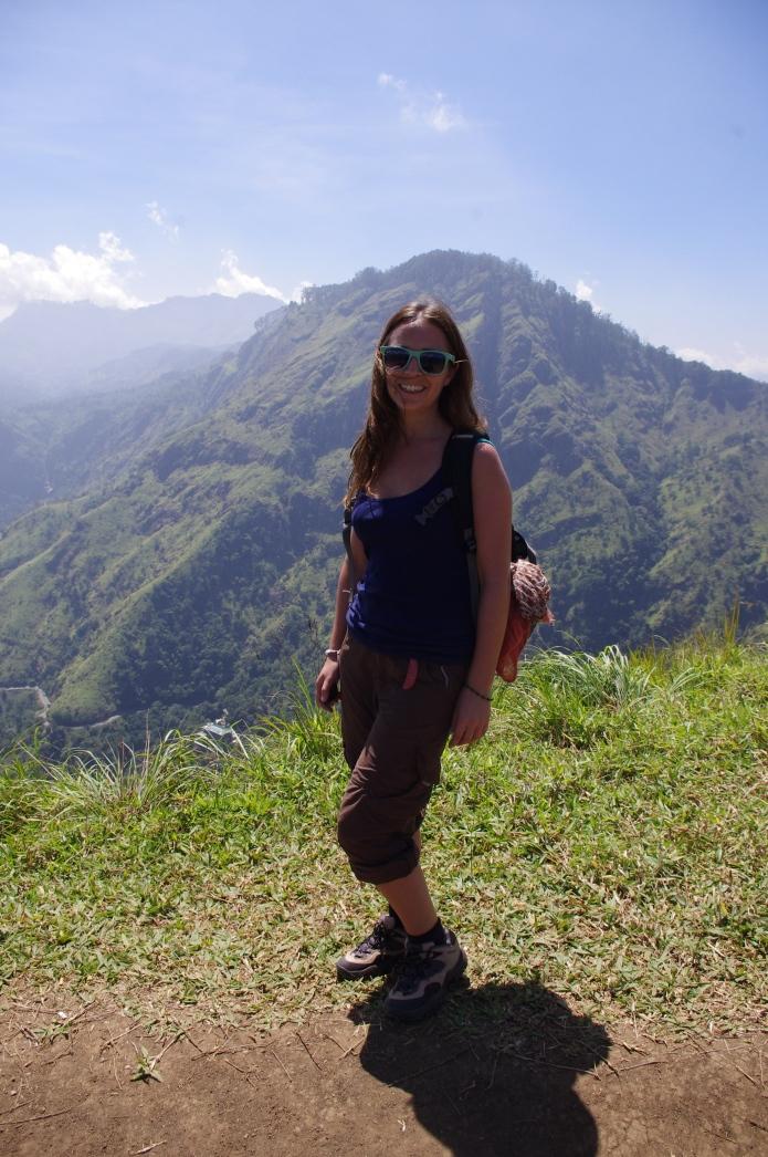 At the top of Baby Adam's Peak