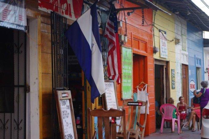 San Juan Del Sur high street