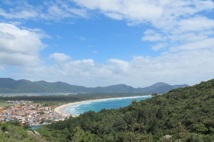 View over the bay in Floripa