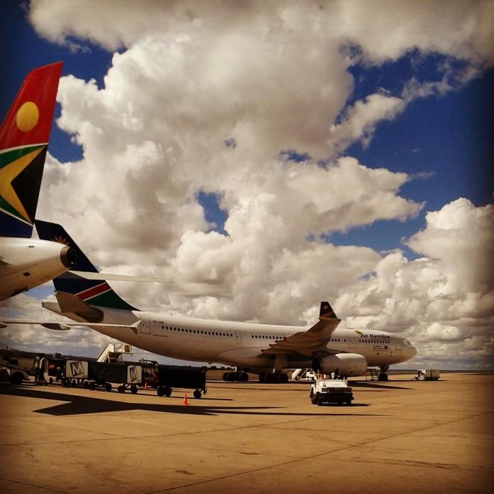Finally arrived into Windhoek. Fell in love immediately!