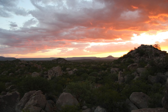 Damaraland Sunset