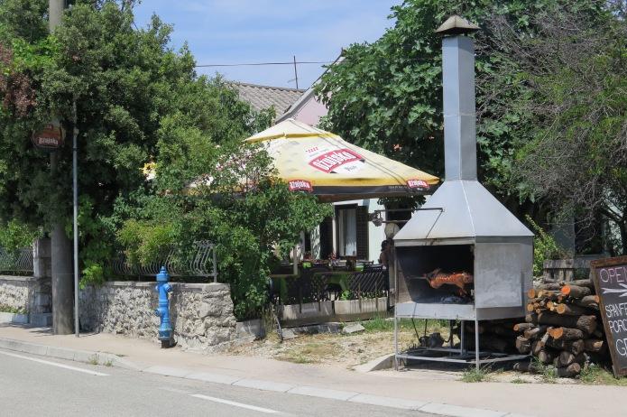 PIg on Spit in Beluj