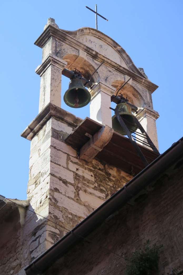 Church bells regularly rang throughout the city
