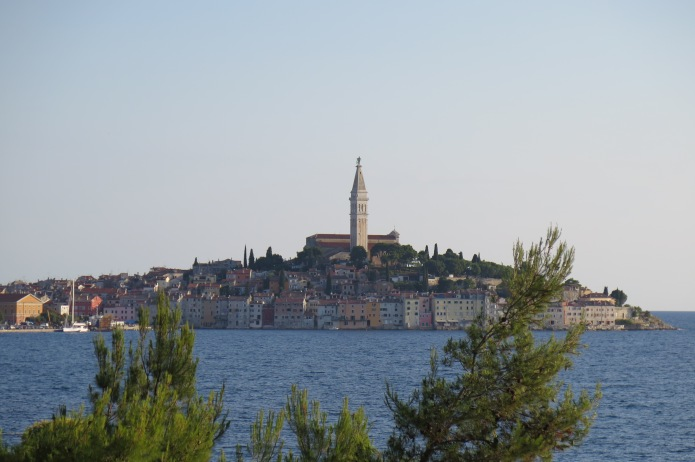 Rovinj from our camp spot