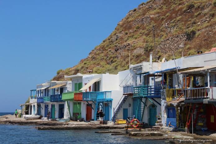 The fishing village of Klima