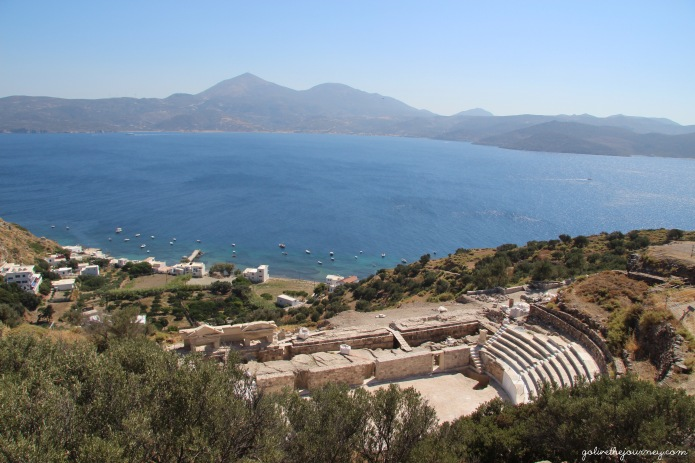 The Roman Theatre by Trypiti
