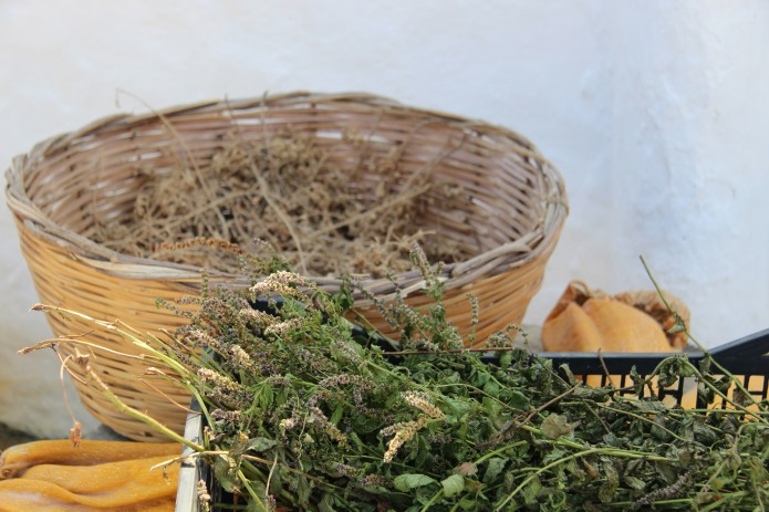 Yummy treats at a farm on Sifnos